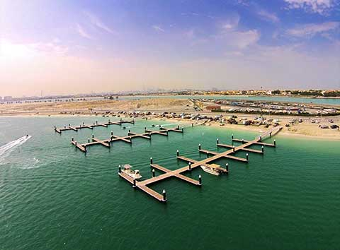 Past Projects - Al Mumzar Marina